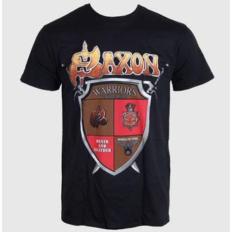 tričko pánske SAXON - ANNIVERSARY - BLACK - LIVE NATION, LIVE NATION, Saxon