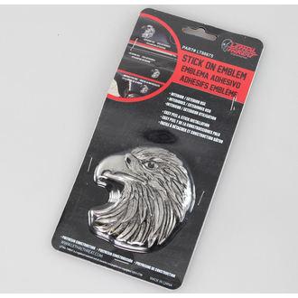 dekorácia (na auto) LETHAL THREAT - Eagle Head Emblem (Eagle Beak Facing Left), LETHAL THREAT
