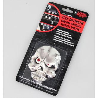 dekorácia (na auto) LETHAL THREAT - Eyeball Skull Emblem, LETHAL THREAT