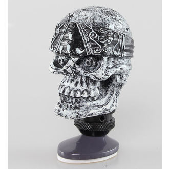 dekorácia (hlavica radiacou páky) LETHAL THREAT - Skull Head Shift Knob, LETHAL THREAT