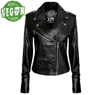 bunda dámska (křivák) KILLSTAR - Vegan Biker - Black, KILLSTAR