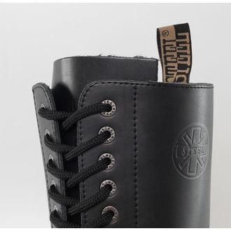 topánky STEEL - 20 dierkové - Black