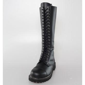 topánky KMM 20 dierkové - Black, KMM
