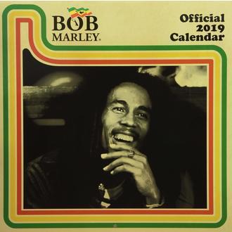 kalendár na rok 2019 BOB MARLEY, NNM, Bob Marley