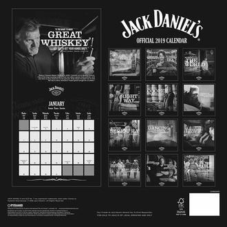 kalendár na rok 2019 JACK DANIELS, JACK DANIELS