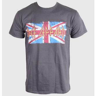 tričko pánske Def Leppard - Union Jack - LIVE NATION, LIVE NATION, Def Leppard