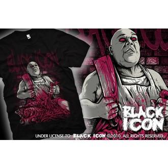 tričko pánske BLACK ICON - Black, BLACK ICON