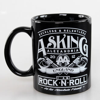 hrnček Asking Alexandria - Rock N Roll - ROCK OFF, ROCK OFF, Asking Alexandria