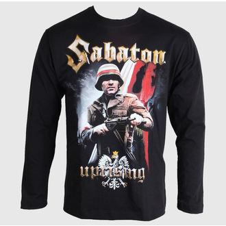 tričko pánske s dlhým rukávom Sabaton - Uprising - Black - CARTON, CARTON, Sabaton
