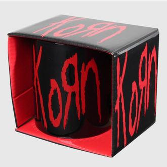 hrnček Korn - Logo - ROCK OFF - KORNMUG01