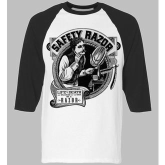tričko pánske s 3/4 rukávom SE7EN DEADLY - Safety Razor Baseball, SE7EN DEADLY