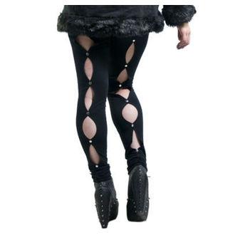 nohavice dámske (legíny) NECESSARY EVIL - Circe - Black, NECESSARY EVIL