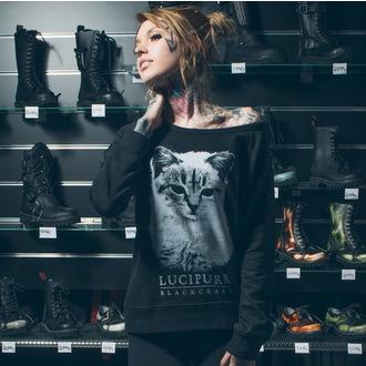 mikina dámska BLACK CRAFT - Lucipurr - Black, BLACK CRAFT