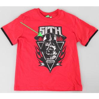 set chlapčenský ( tričko,kraťasy) TV MANIA - Star Wars Clone - Red - Star 825, TV MANIA