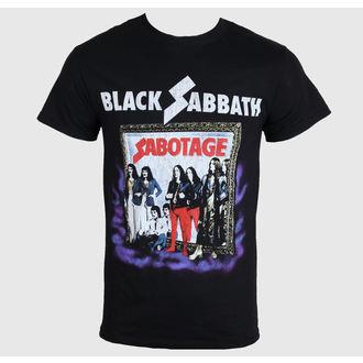 tričko pánske Black Sabbath - Sabotage - Black - BRAVADO, BRAVADO, Black Sabbath