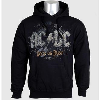 mikina pánska AC/DC - Rock Or Bust - Black - LIVE NATION, LIVE NATION, AC-DC