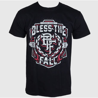 tričko pánske Bless The Fall - Crest - Black - LIVE NATION, LIVE NATION, Bless The Fall
