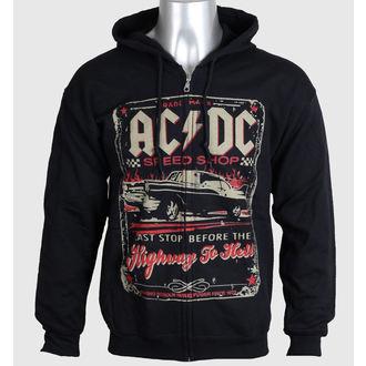 mikina pánska AC/DC - Speed Shop - LIQUID BLUE, LIQUID BLUE, AC-DC