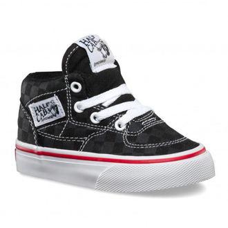 topánky detské VANS - HALF CAB (Tonal Check) - BLK, VANS