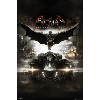 plagát Batman - Arkham Knight Cover - GB Posters, GB posters