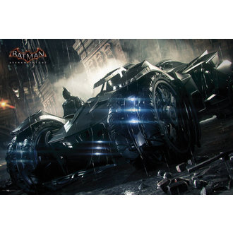 plagát Batman - Arkham Knight Batmobile - GB Posters, GB posters