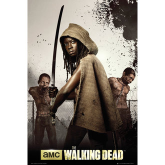 plagát The Walking Dead - Dead Michonne - GB Posters, GB posters