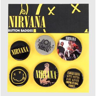 odznaky Nirvana - Smiley - GB Posters - BP0368