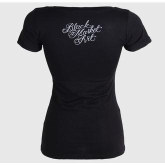 tričko dámske BLACK MARKET - Charlie Medina - Dead Queen, BLACK MARKET