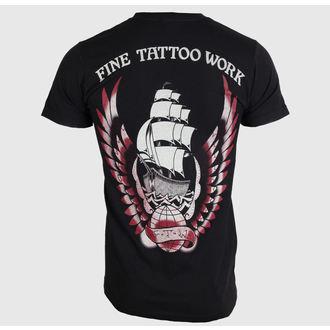 tričko pánske BLACK MARKET - Adi - Fine Tattoo Work, BLACK MARKET