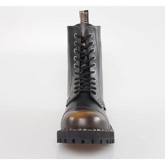 topánky STEEL - 10 dierkové - Yellow/Black, STEEL