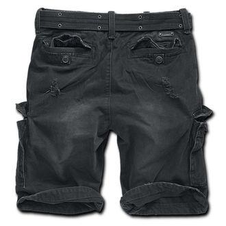 kraťasy pánske Brandit - Shell Valley Heavy Vintage - Black, BRANDIT