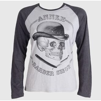 tričko pánske s dlhým rukávom BLACK MARKET - Pánske Barber Shop, BLACK MARKET