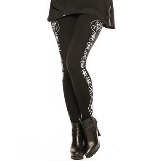 nohavice dámske (legíny) CVLT NATION - Black Mass - Black, CVLT NATION