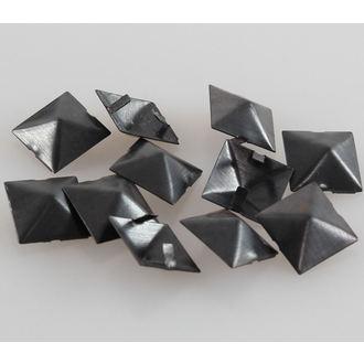 pyramídy kovové BLACK - 10ks, BLACK & METAL