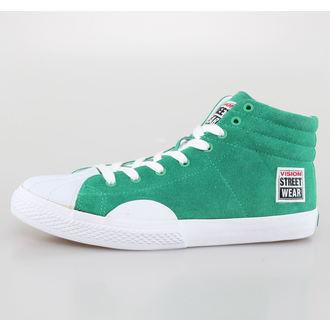topánky pánske VISION - Suede HI - Pepper Green/White, VISION