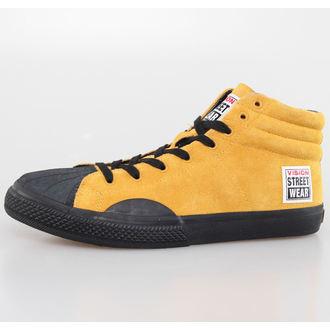 topánky pánske VISION - Suede HI - Mustard / Black, VISION