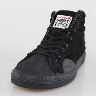 topánky pánske VISION - Suede HI - Black / Black, VISION
