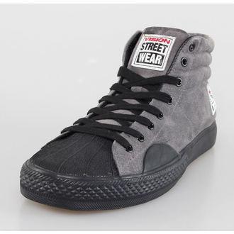 topánky pánske VISION - Suede HI - Charcoal/Black, VISION