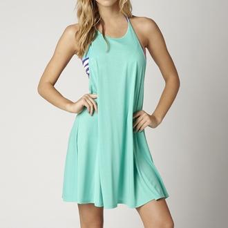 šaty dámske FOX - VAPORS - Teal - 15S-12348-176