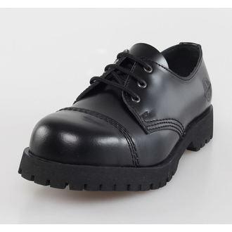 topánky NEVERMIND - 3 dierkové - Black Polido, NEVERMIND