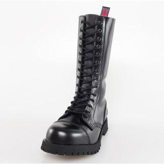 topánky NEVERMIND - 14 dierkové - Black Polido, NEVERMIND