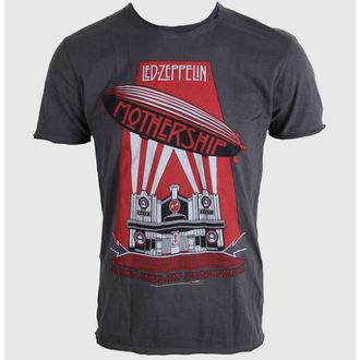 tričko pánske AMPLIFIED - Led Zeppelin - Mothership - Charcoal