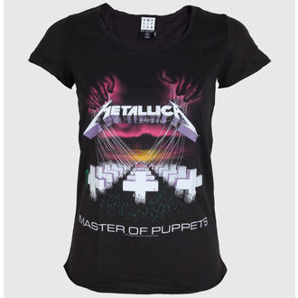 tričko dámske AMPLIFIED - Metallica - Master Of Puppets - Charcoal, AMPLIFIED, Metallica