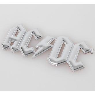 nálepka 3D AC/DC - Chromlogo, F.B.I., AC-DC