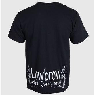 tričko pánske BLACK MARKET - Lowbrow - Black - LB0200, BLACK MARKET
