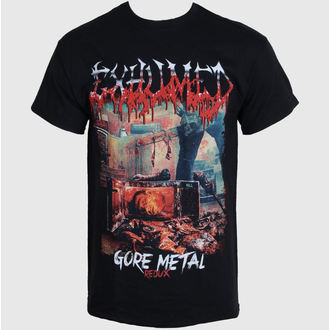 tričko pánske EXHUMED - Gore Metal Redux - BLK - RAZAMATAZ, RAZAMATAZ, Exhumed