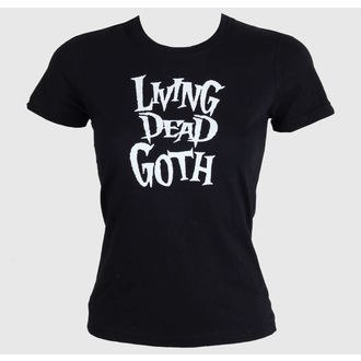 tričko dámske Living Death Goth - Black, BAT ATTACK