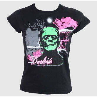 tričko dámske DARKSIDE - Black, DARKSIDE