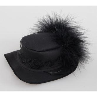 klobúčik ZOELIBAT - Black, NNM
