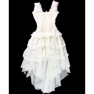 šaty dámske Burlesky - Champagne - CHICO-25